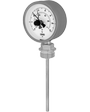 Dial thermometer, transformer version (60.8005)