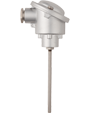JUMO Etemp B - Push-In RTD Temperature Probe with Form B Terminal Head for Standard Applications (902123)