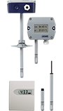 Hygro Transducer, Hygrothermal Transducer, and CO2 Measuring Probe for Facility Management and Climate Monitoring (907021)